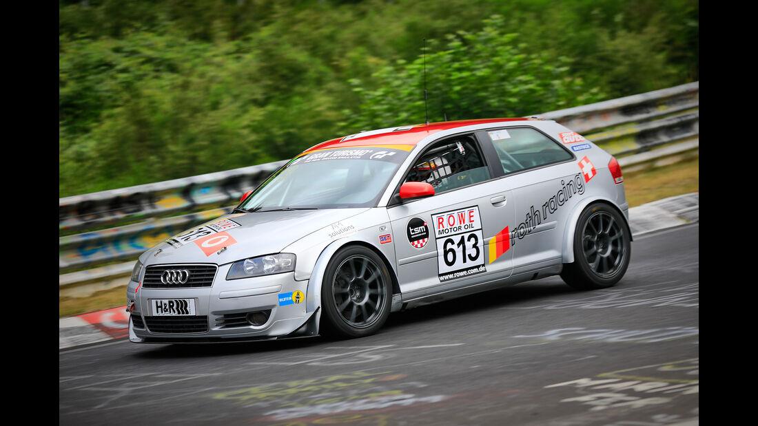 Audi A3 - Startnummer #613 - H2 - VLN 2019 - Langstreckenmeisterschaft - Nürburgring - Nordschleife