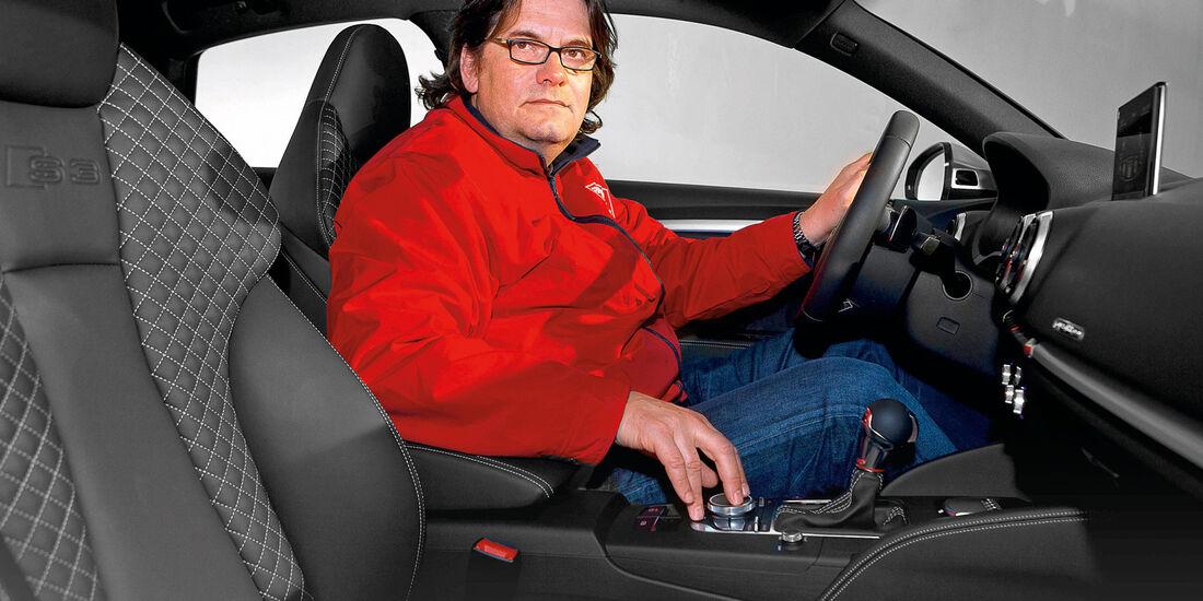 Audi A3 Stufenheck, Cockpit, Heinrich Lingner