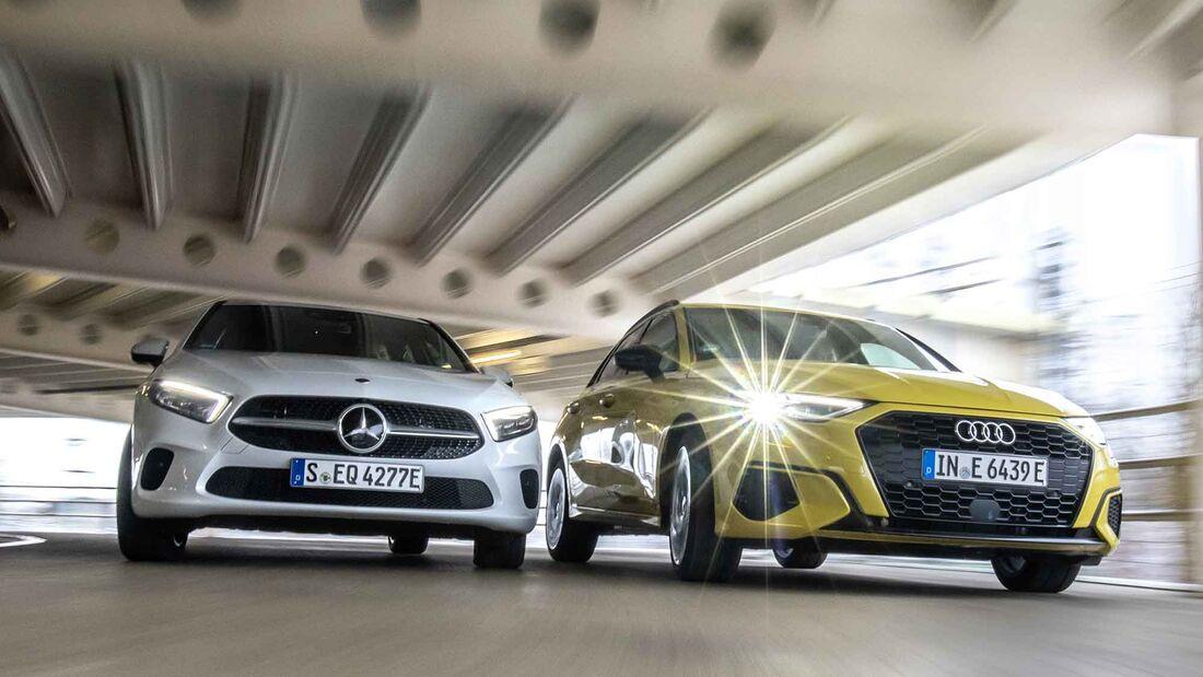 Audi A3 TFSIe, Mercedes A 250e