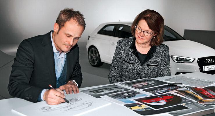 Audi A3, Wolfgang Egger, Birgit Priemer