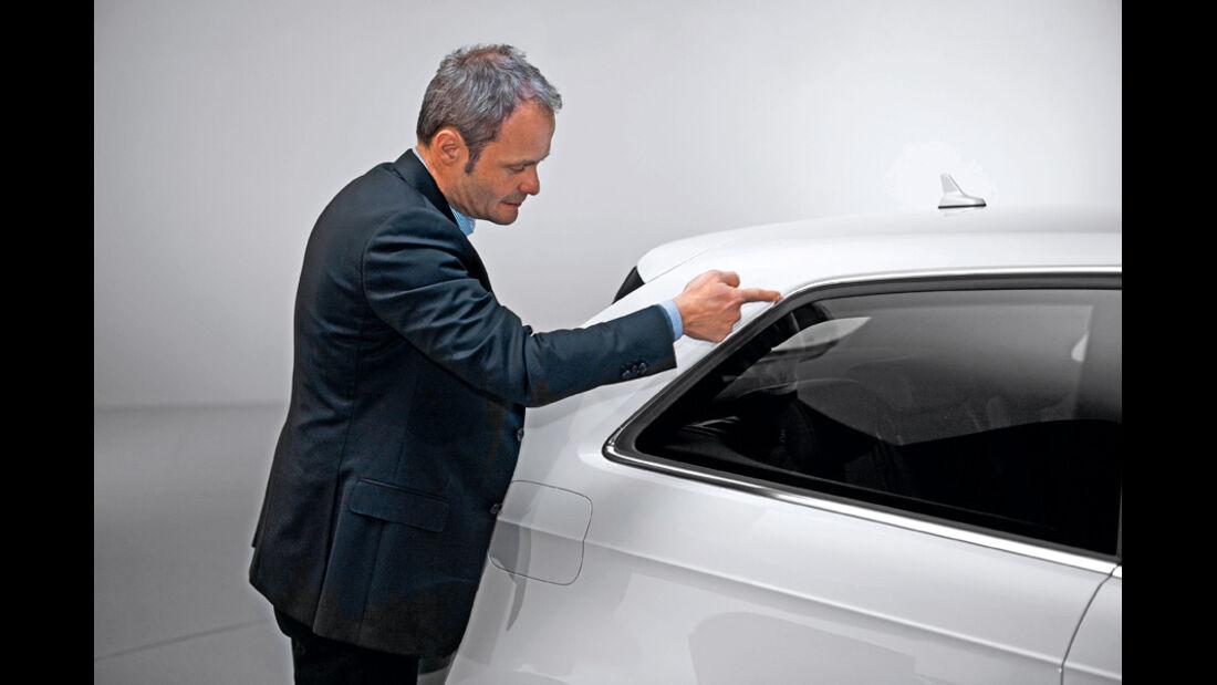 Audi A3, Wolfgang Egger, C-Säule