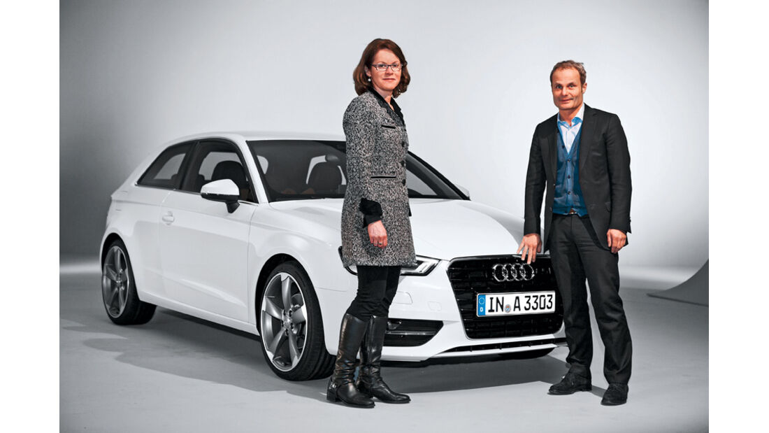 Audi A3, Wolfgang Egger, Front