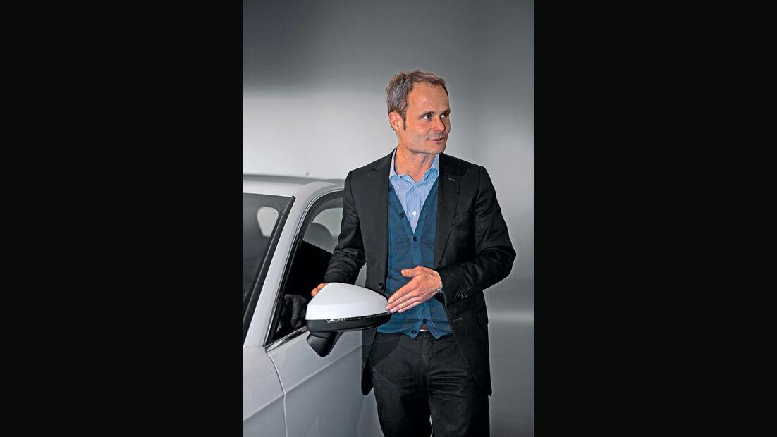 Audi A3, Wolfgang Egger, Seitenspiegel