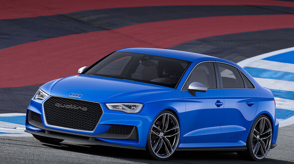 Audi A3 clubsport quattro concept Wörthersee 2014