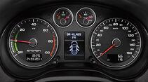 Audi A3 e-tron, Cockpit, Tacho