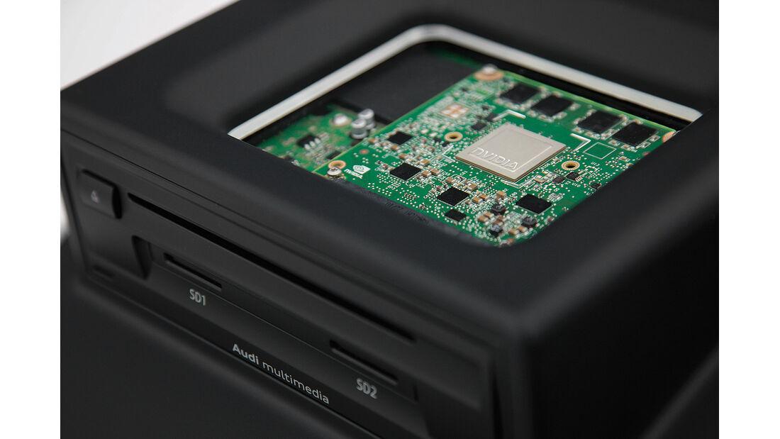 Audi A3, nvidia-Prozessor