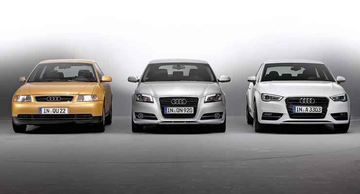 Audi A3, verschiedene Modelle