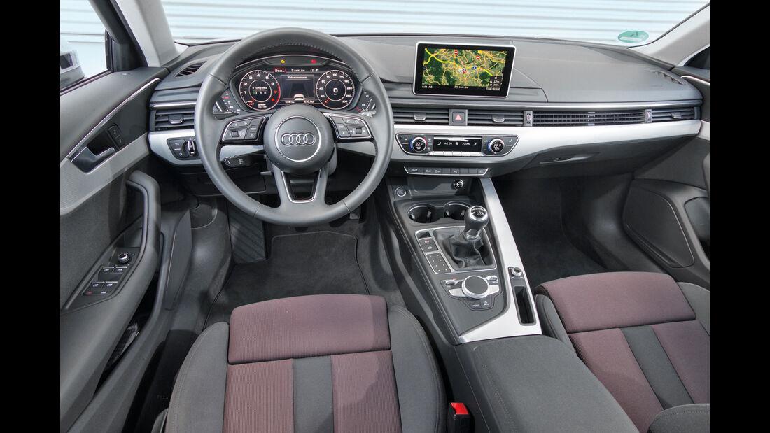 Audi A4 1.4 TFSI, Cockpit