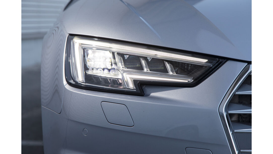 Audi A4 1.4 TFSI, Frontscheinwerfer