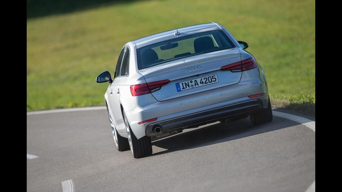 Audi A4 1.4 TFSI, Heckansicht