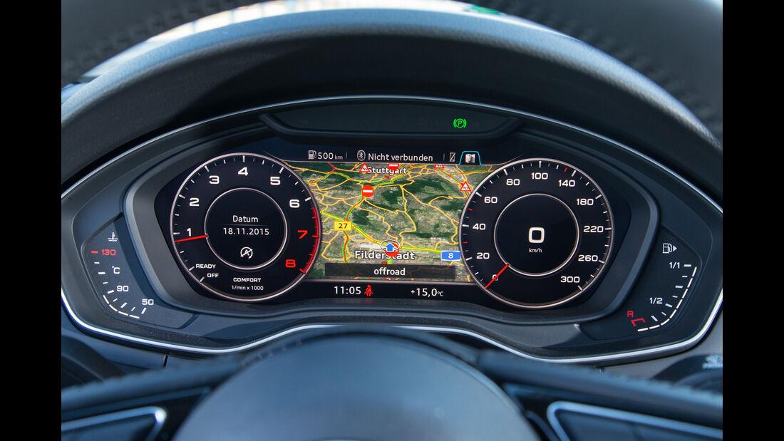 Audi A4 1.4 TFSI, Rundinstrumente