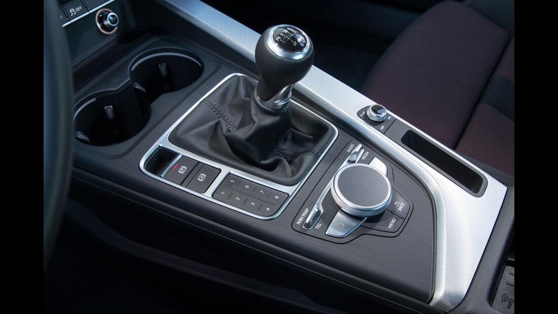 Audi A4 1.4 TFSI, Schalthebel