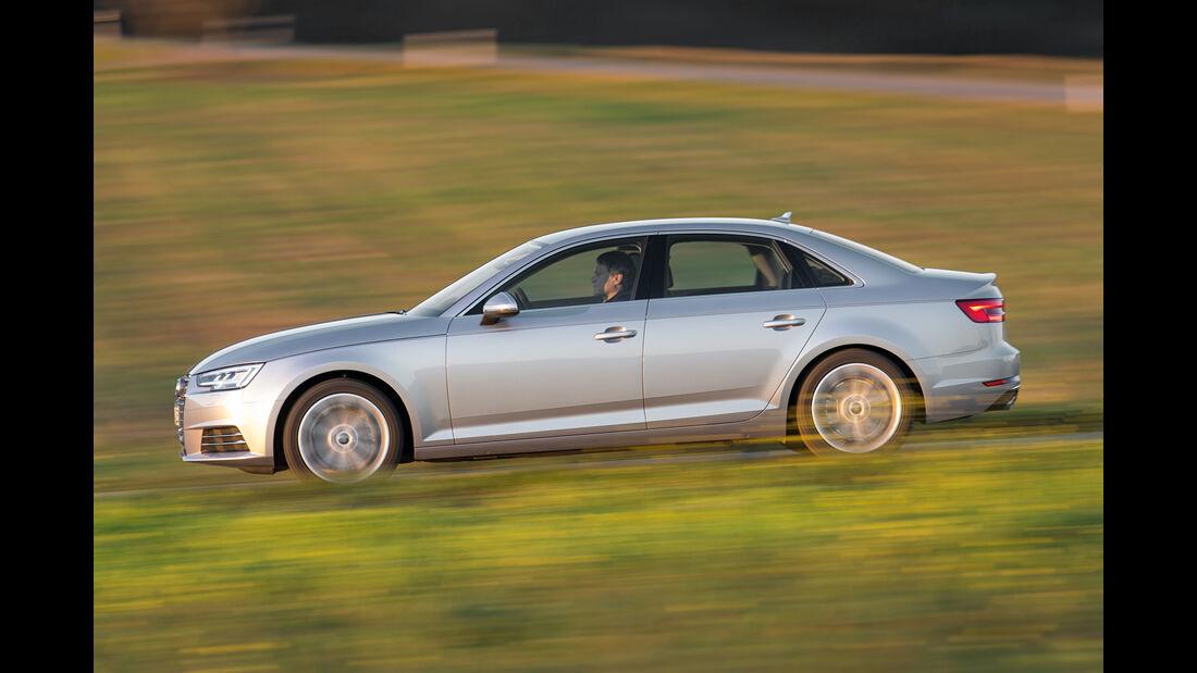 Audi A4 1.4 TFSI, Seitenansicht