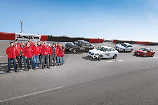 Audi A4 1.8 TFSI, BMW 320i, Mercedes C 200, Volvo S60 T4, Teilnehmer