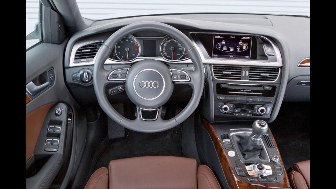 Audi A4 1.8 TFSI, Cockpit