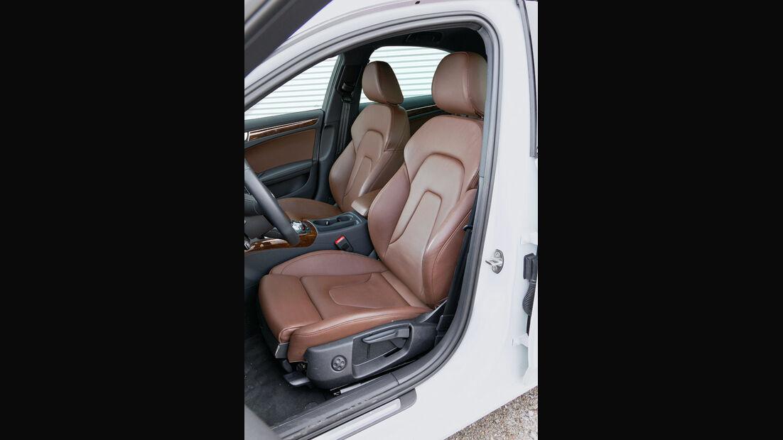 Audi A4 1.8 TFSI, Fahrersitz