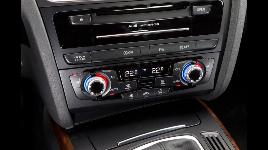Audi A4 1.8 TFSI, Radio, Temperatureinstellung