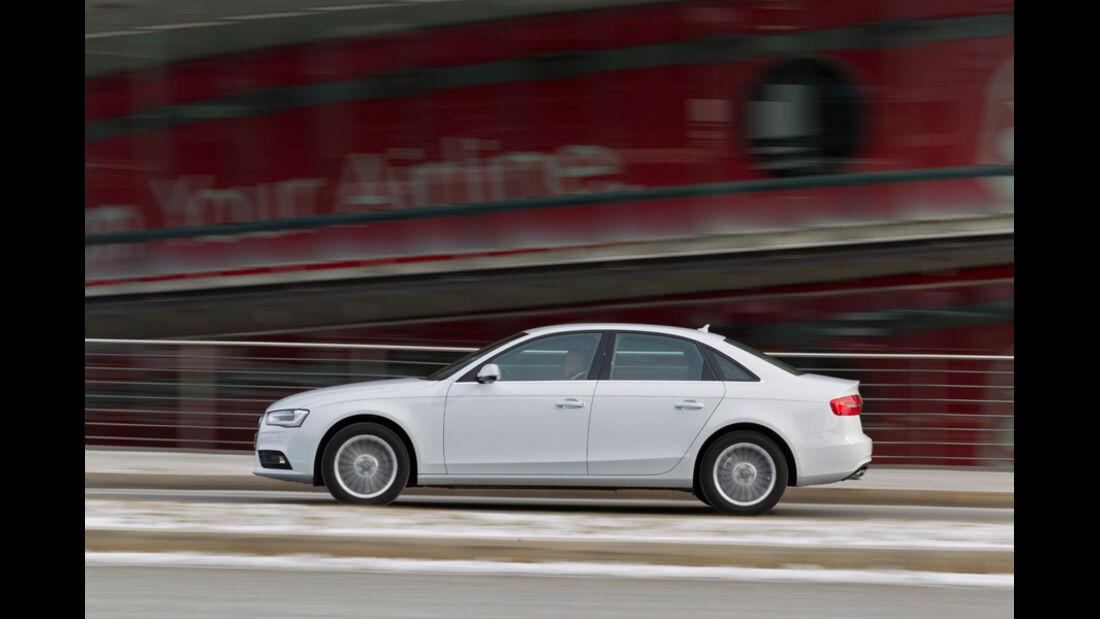 Audi A4 1.8 TFSI, Seitenansicht