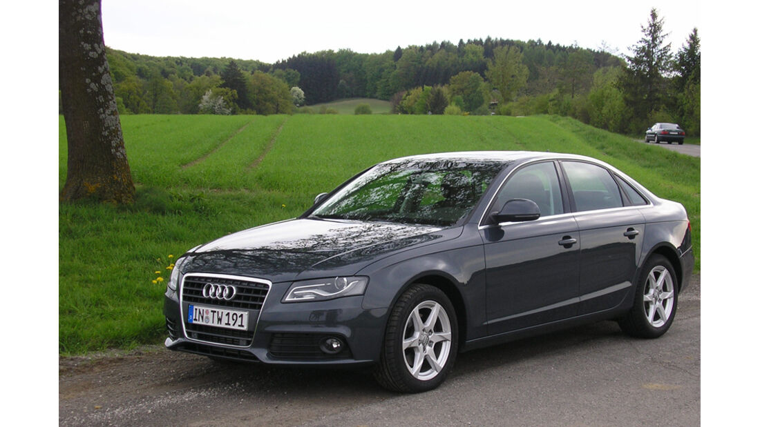 Audi A4 2.0 TDI, Ammersee, Land
