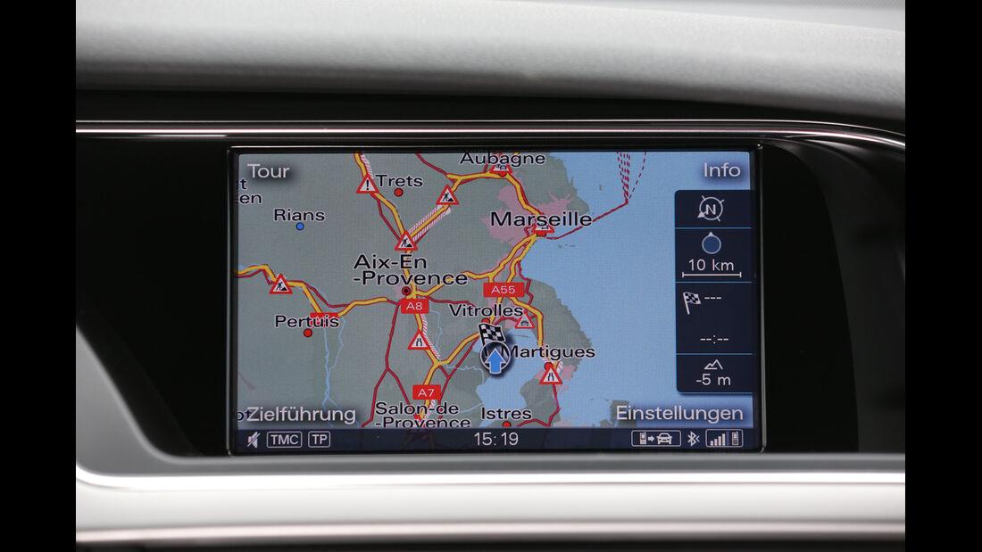 Audi A4 2.0 TDI, Bildschirm, Infotainment