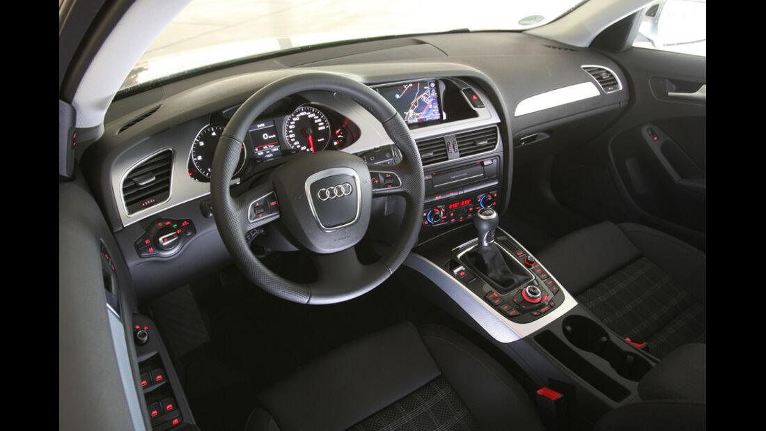 Audi A4 2.0 TDI, Cockpit