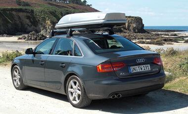 Audi A4 2.0 TDI, Dachgepäckträger, Bretagne, Meer