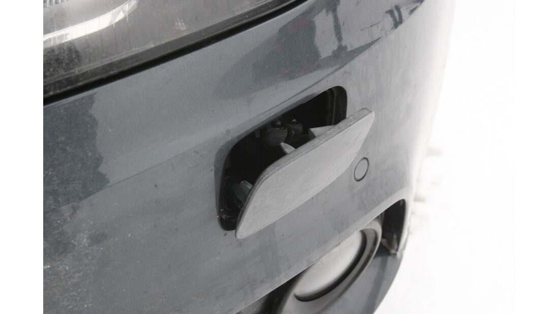 Audi A4 2.0 TDI, Detail, Spritzdüse