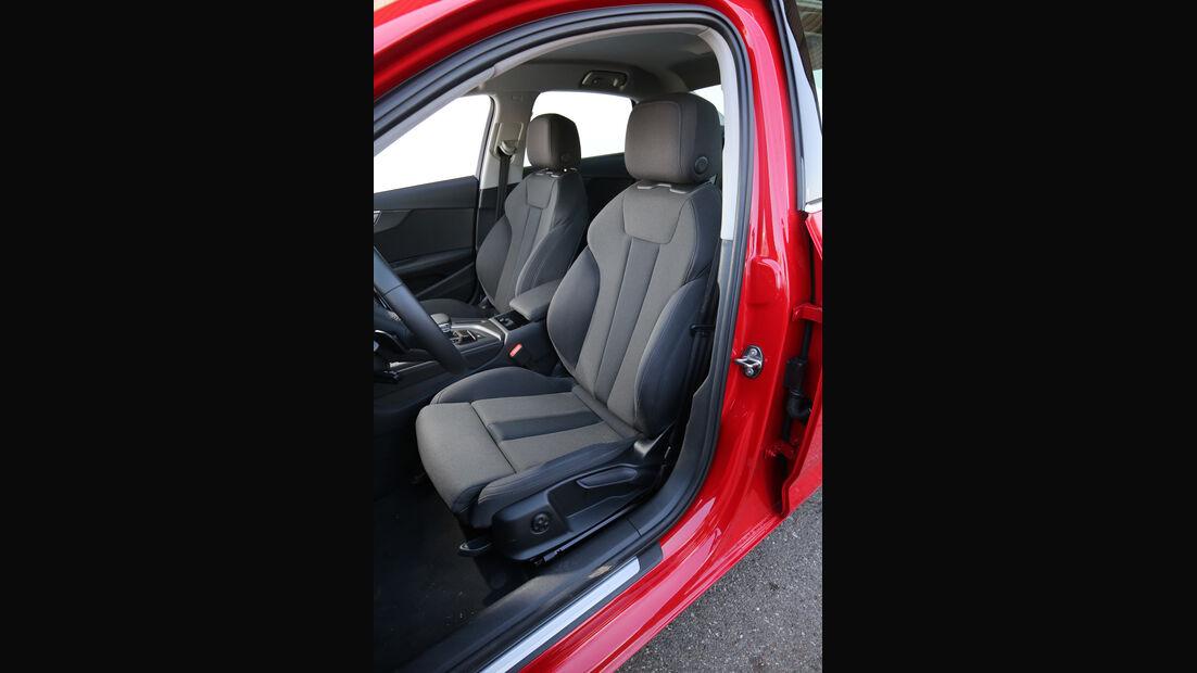 Audi A4 2.0 TDI, Fahrersitz