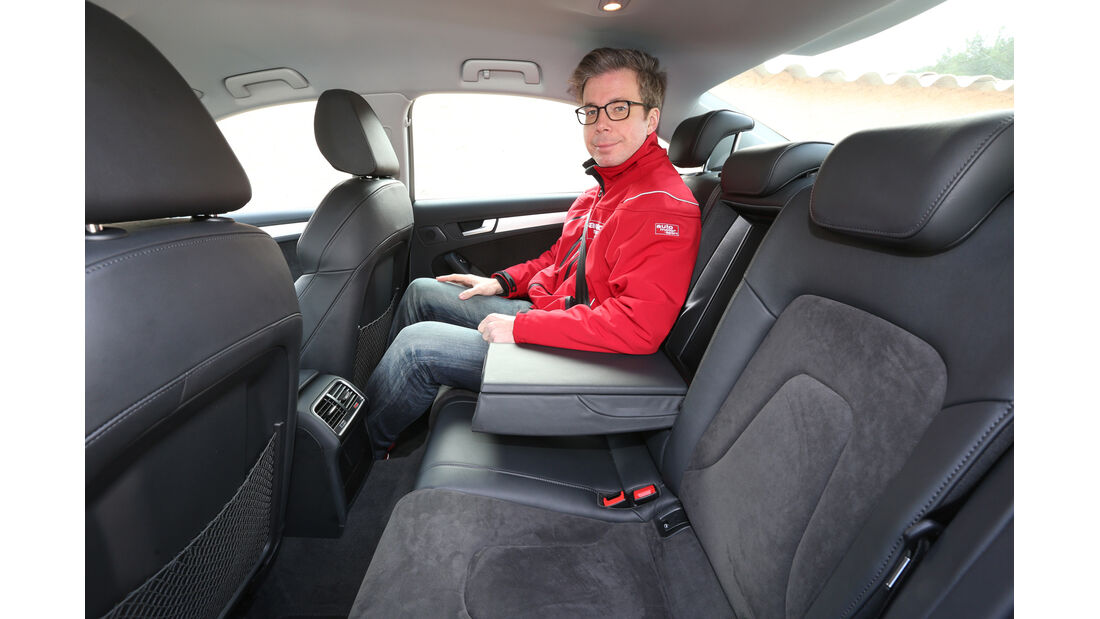 Audi A4 2.0 TDI, Fondsitz, Beinfreiheit