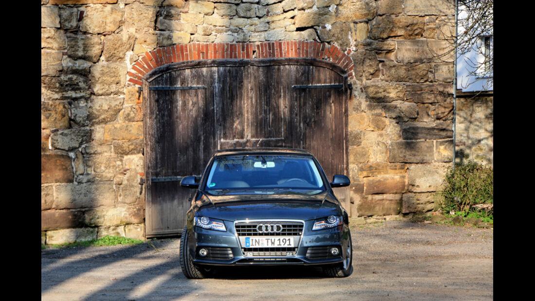Audi A4 2.0 TDI, Georgenthal, Frontansicht