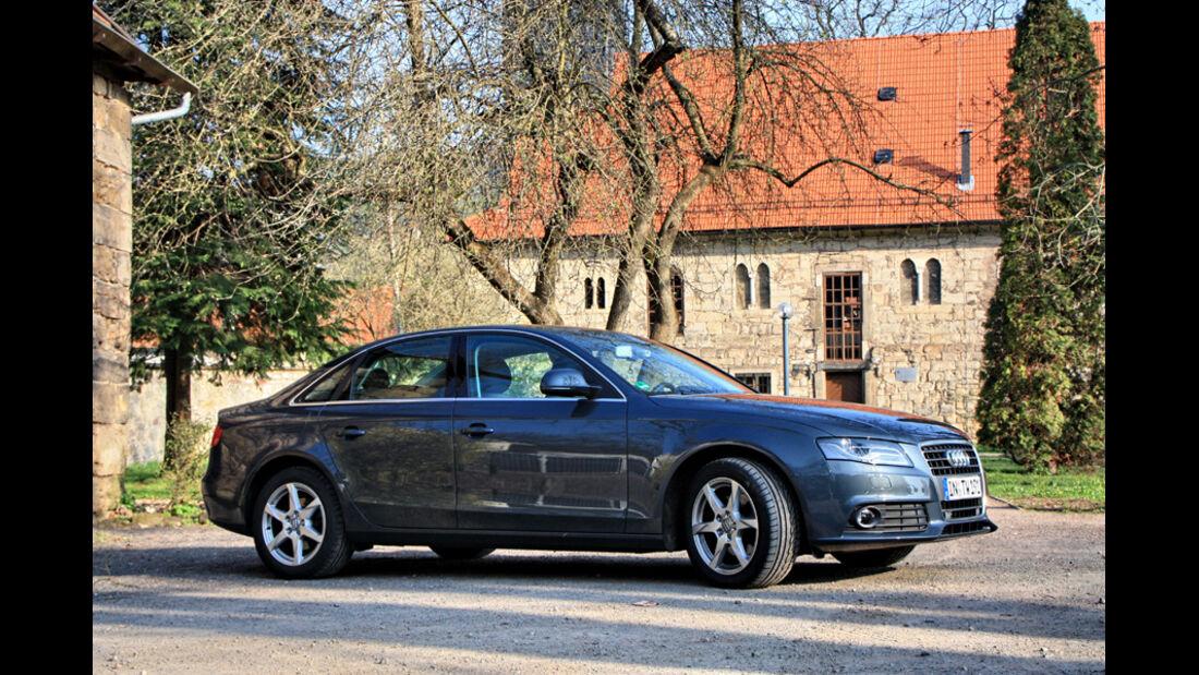 Audi A4 2.0 TDI, Georgenthal, Seitenansicht