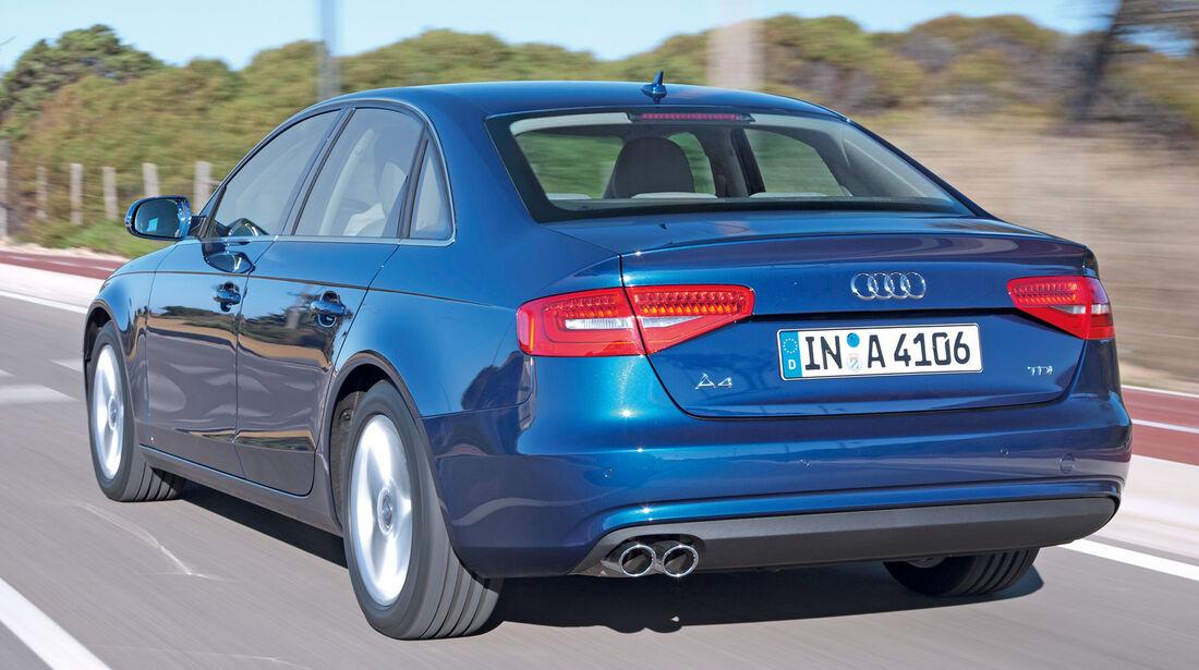 Audi A4 2.0 TDI, Heckansicht