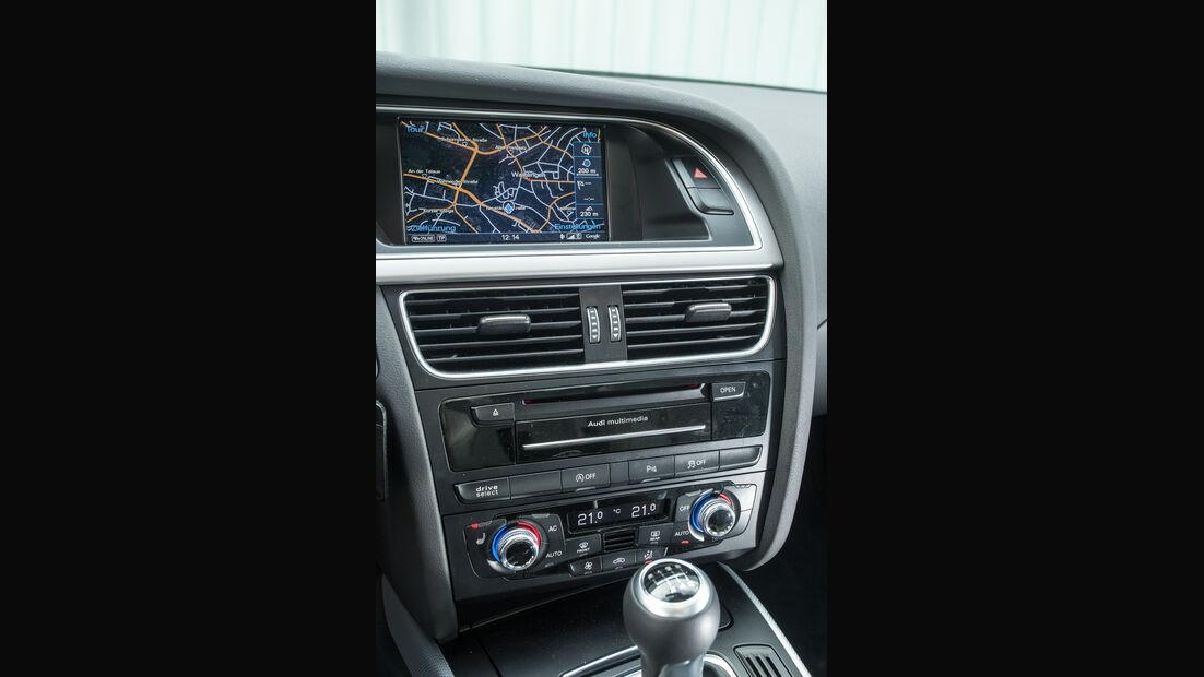 Audi A4 2.0 TDI, Mittelkonsole