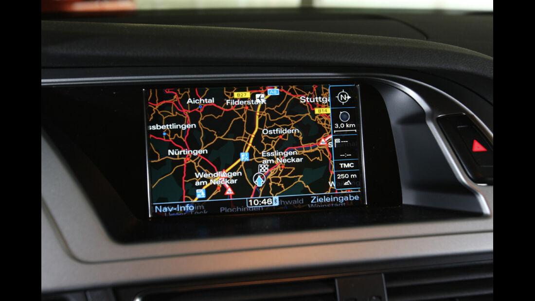 Audi A4 2.0 TDI, Navigationsgerät, Display