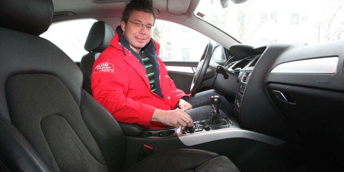 Audi A4 2.0 TDI, Porträt, Dirk Gulde