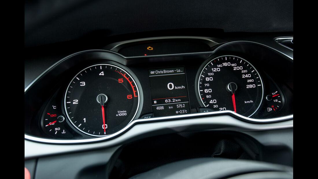 Audi A4 2.0 TDI, Rundinstrumente