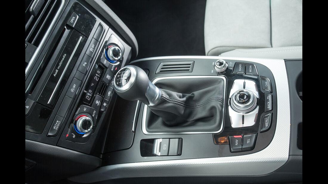 Audi A4 2.0 TDI, Schalthebel