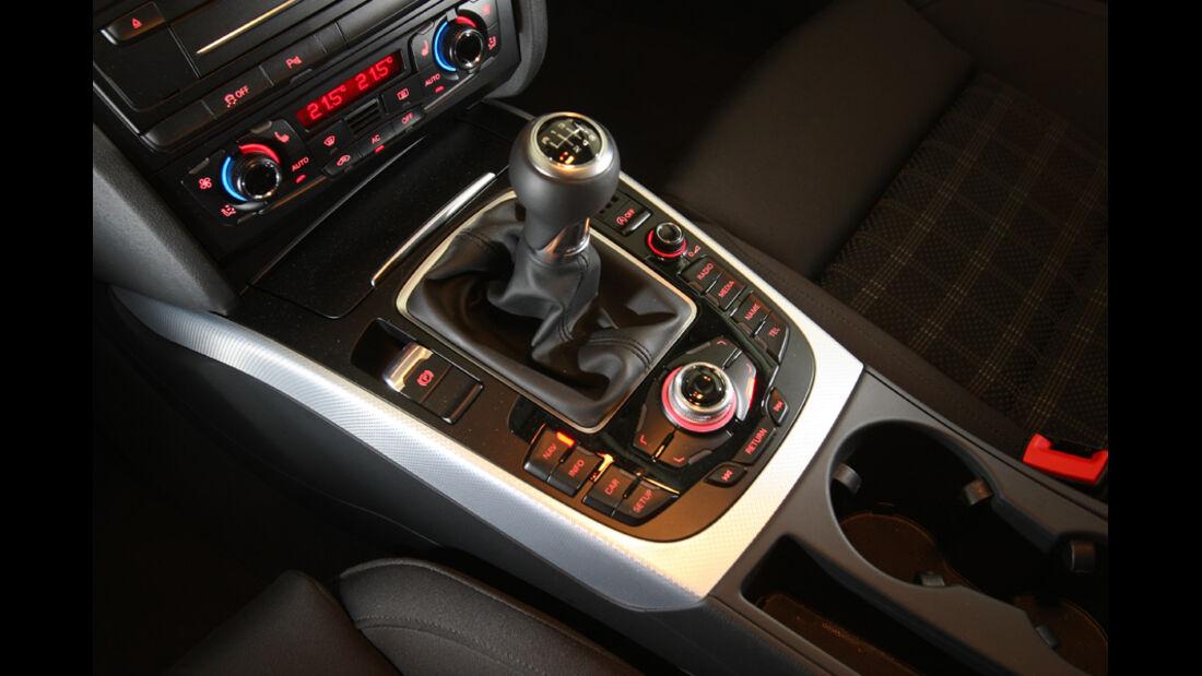 Audi A4 2.0 TDI, Schaltung