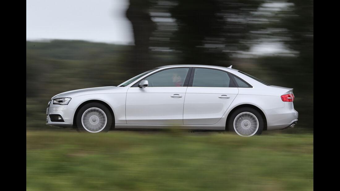 Audi A4 2.0 TDI, Seitenansicht