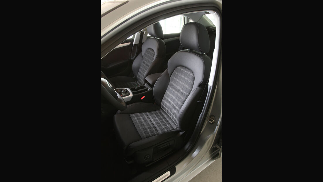 Audi A4 2.0 TDI, Sitze