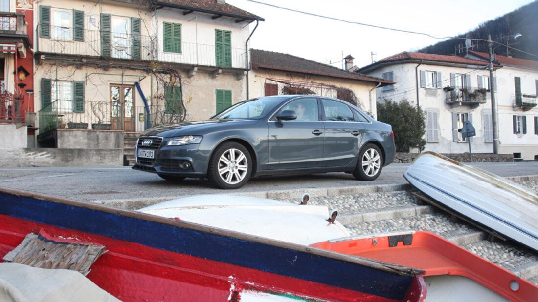 Audi A4 2.0 TDI grau metallic