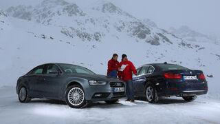 Audi A4 2.0 TFSI Quattro, BMW 328i x-Drive,