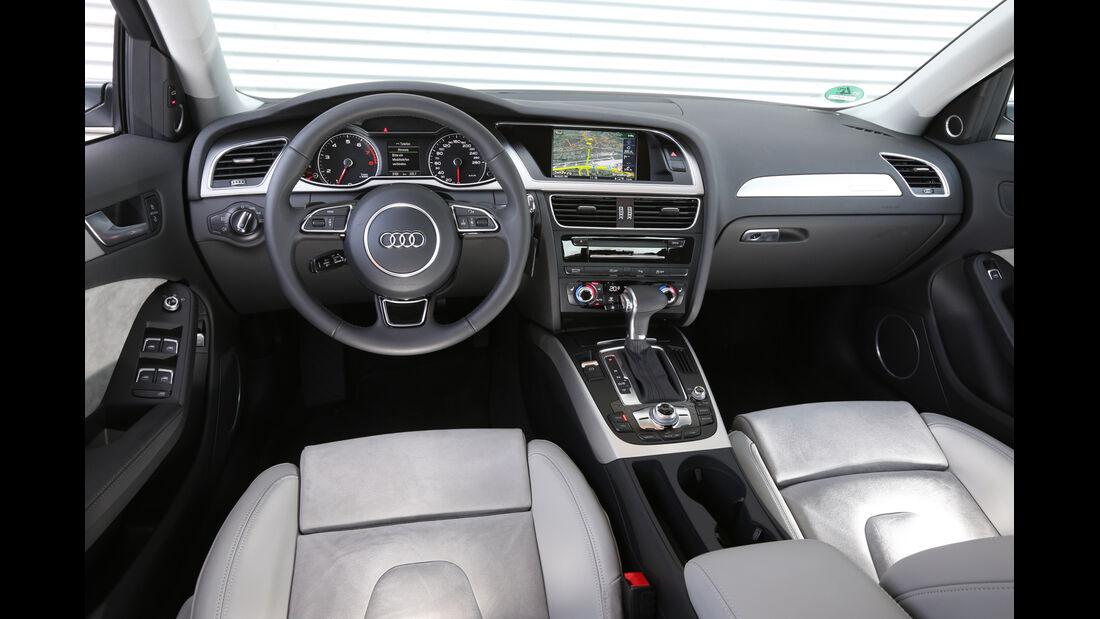 Audi A4 2.0 TFSI Quattro, Cockpit
