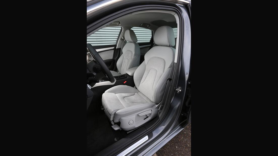 Audi A4 2.0 TFSI Quattro, Fahrersitz