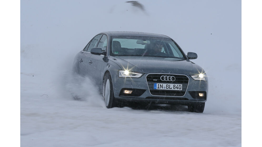 Audi A4 2.0 TFSI Quattro, Frontansicht