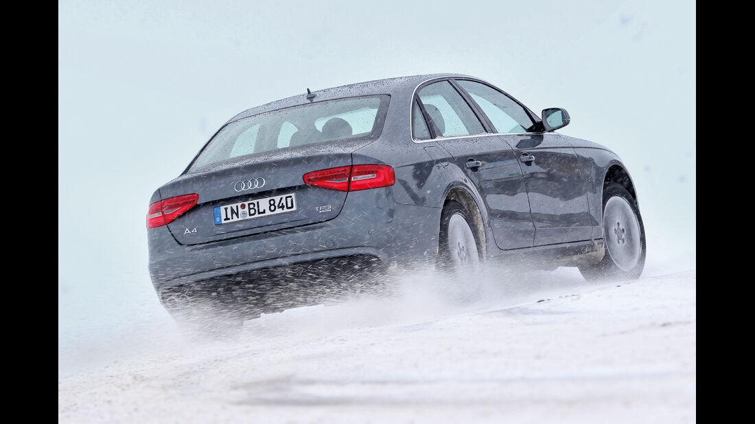 Audi A4 2.0 TFSI Quattro, Heckansicht