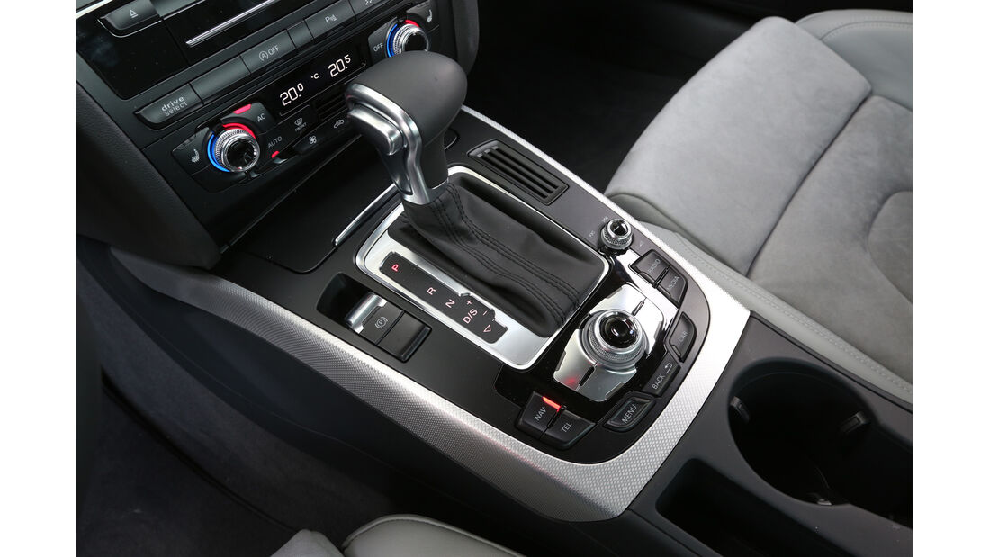Audi A4 2.0 TFSI Quattro, Schalthebel