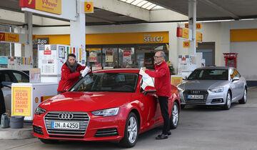 Audi A4 2.0 TFSI gegen A4 2.0 TDI