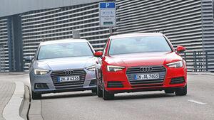 Audi A4 2.0 TFSI und Audi A4 2.0 TDI - Front