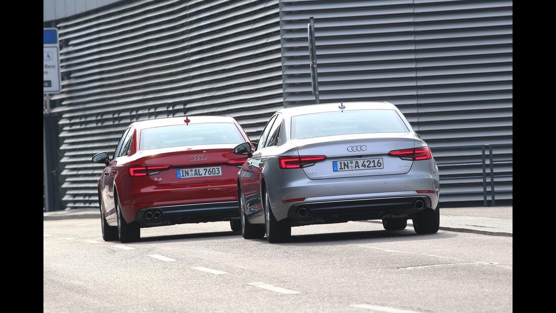 Audi A4 2.0 TFSI und Audi A4 2.0 TDI - Heck